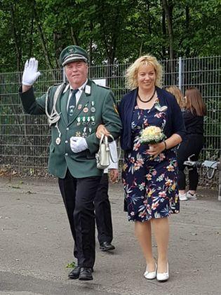 Königspaar Richard I. und Marita I.